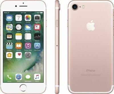 Apple iPhone 7 128GB Rose Gold Factory GSM Unlocked (AT&T / TMobile) Smartphone