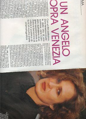 SP14 Clipping-Ritaglio 1990 Jane Campion Un angelo sopra Venezia