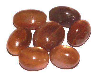 94.40 cts Natural Earth Mined  Sunstone Cabochon Gemstone Lot #hssl54