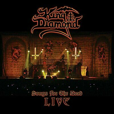 King Diamond-Songs For The Dead Live Cd New
