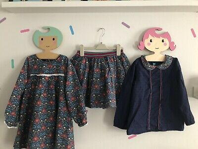 Little Bird Bundle 6-7 Used Girls Dress Skirt Top Blouse Jools Mothercare Bundle
