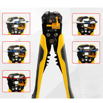New Automatic Wire Striper Cutter Stripper Crimper Pliers Terminal Tool