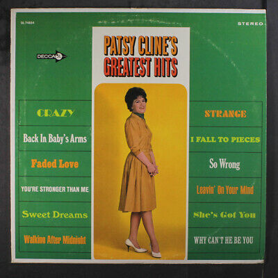 PATSY CLINE: Greatest Hits LP (minor cw) Country