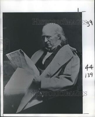 1977 Press Photo Old Man. - RSH69949