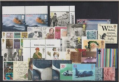 GB £15+ face value Mint stamps for postage full gum MNH Per Scans
