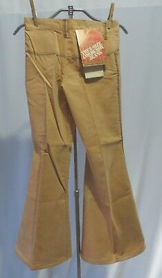 Vintage Wrangler Bell Bottoms  Corduroy Pants Dead Stock sz 10 Girls