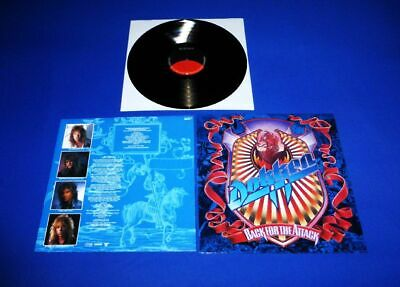 Dokken - Back For The Attack Lp -> German Electra  A1 / B 1  Play  Mint Top Rock