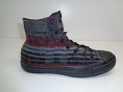 d55487ae0ff Converse Size 8 STREET HIKER HI WOOLRICH Dolphin Wool Sneakers New Unisex  Shoes