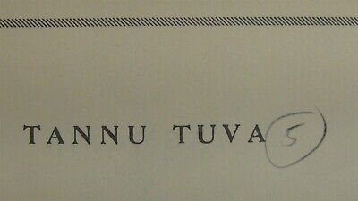 Tannu Tuva #5 Stamp collection on Minkus pages w/ 79 stamps