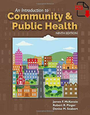 [PDF] An Introduction to Community & Public Health 9th Edition