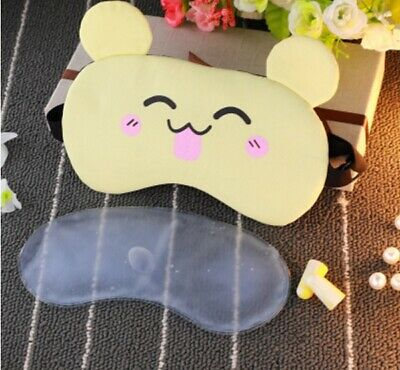 A81 Yellow Cute Koala Originality Animal Sleeping Eye Mask Travel Eyepatch A