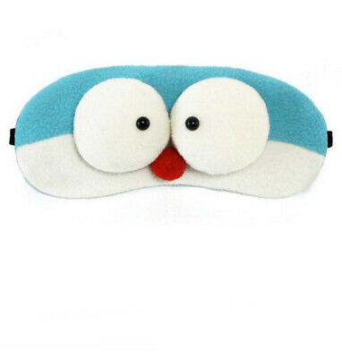 A42 Blue Cartoon Style Originality Sleeping Eye Mask Travel Eyepatch 1 Pcs A