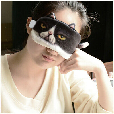 A33 Cute Cotton Originality Animal Sleeping Eye Mask Travel Eyepatch 1 Pcs A
