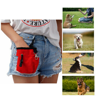 Pet Dog Treat Pouch Obedience Training Bag Portable Outdoor Feed Storage Waist