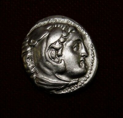 Alexander The Great.Early posthumous issue drachma,Caria Mylasa.Greek coin.