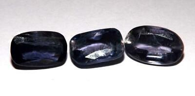 8.60 cts Iolite 100% Natural Untreated Gemstone Lot #fiol42