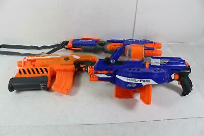 Lot of 3 Nerf Toy Guns All Battery Operated