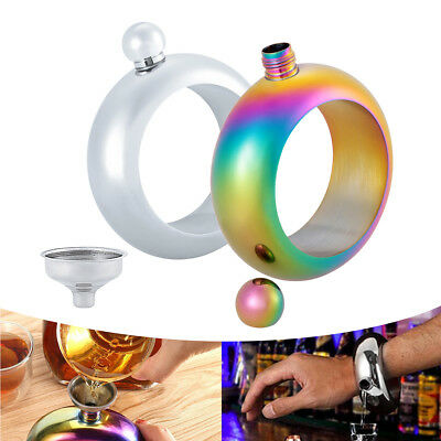 Hidden Booze Smuggle Jug Bracelet Wine Pot Bangle Alcohol Bar Party Boy Gifts UK