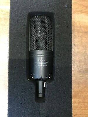 AT4033a Transformerless Capacitor Studio microphone