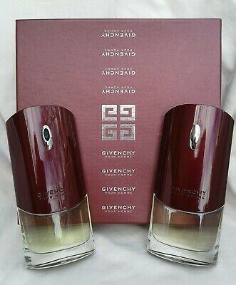 GIVENCHY Pour Homme eau de toilette spray/after shave -SET- 3.3 oz/100 ml FRANCE