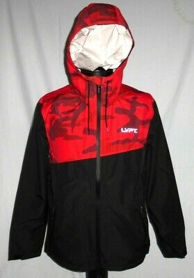 d4b24a0183 NWT LIVE FIT LVFT Live Fit Apparel RECON TECH Water Wind Resistant Hoodie  Sz. LG