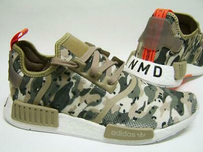 d30788dd4a2e5 Adidas Nmd R1 Boost Camo Beige Brown Mens Trainers G27915 UK Sizes 9 9.5 10  11.5