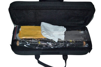 A08 17 Keys BE Clarinet Black Musical Instrument With Case Accessories O