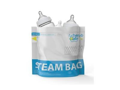 Natristeam Microwave Steam Steriliser Bags 12 pack