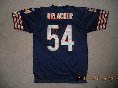 5838e4a6c Chicago Bears NFL Football Jersey  54 Brian Urlacher Reebok Sewn Youth XL  Mesh