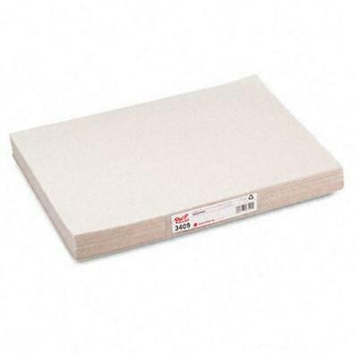 Pacon White Newsprint Unlined 12 x 18 Paper (500 Sheets)