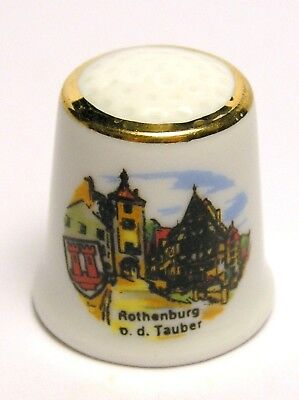 Fingerhut Thimble - Rothenburg o. d. Tauber
