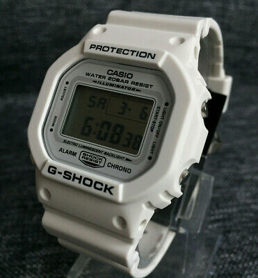 9506a2c84441c4 Casio G Shock Dw-5600Mw-7Er White Digital The Origin Stopwatch Timer Brand  New