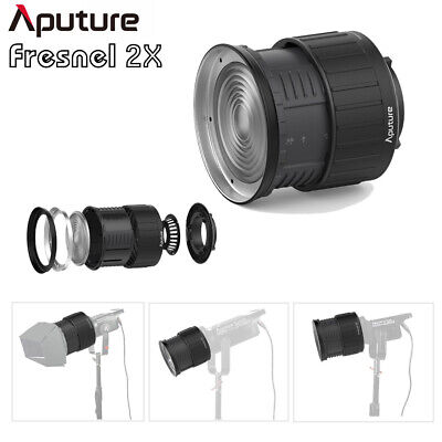 New Aputure Fresnel 2x Light shaping Spotlight Bowens Mount for LS C120d LS 300D