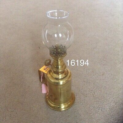 Antique French Brass Lamp