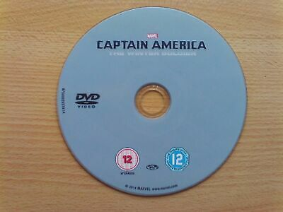 Captain America The Winter Soldier [2014] [DISC ONLY DVD]