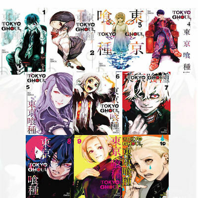 Tokyo Ghoul Series By Suilshida 10 Books Collection Set Brand New