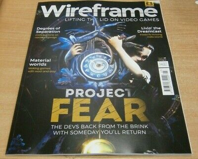 Wireframe magazine #7 2019 Project Fear + Making Games with Wool & Clay & more