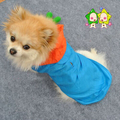 2019 New Lovely Pet Dog Clothes Waterproof Raincoat for Small Dog Size M-L