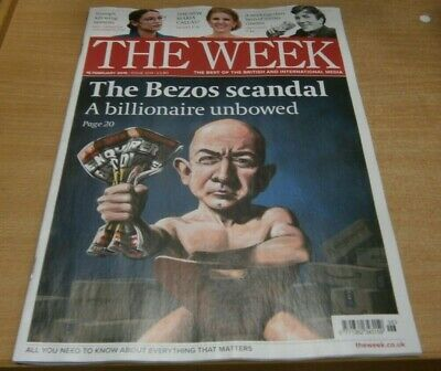 The Week magazine 16th Feb 2019 The Bezos Scandal: A Billionaire unbowed & more