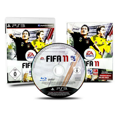 PS3 - PlayStation 3 Spiel FIFA 11 - FIFA 2011 - Fußball in OVP mit Anleitung