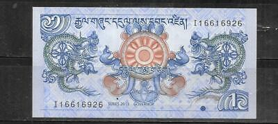 Bhutan 2013 Uncirculated New Ngultrum Currency Banknote Bill Note Paper Money