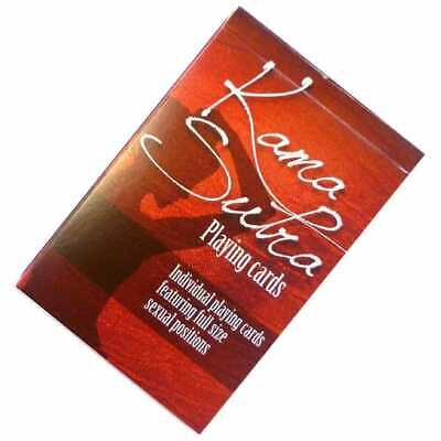 Kama Sutra Playing Cards - Valentine's Day Gift  Hen Stag Party Naughty Game