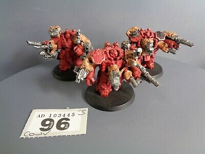 Warhammer 40,000 Chaos Space Marines Centurions Converted Obliterators 96