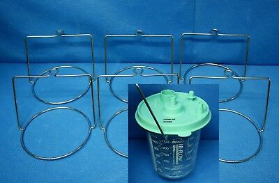 Bemis 6 each Wire Ring for 1200 2000 or 3000cc Suction Canisters 532910