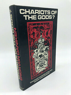 CHARIOTS OF THE GODS? BY E.V.DANIKEN. 1ST EDITION 2nd Impression.1969