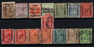 P106515/ British Bechuanaland / Lot 1893 – 1925 Obl / Used 145 €