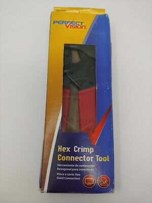 Perfect Vision 050000 Heavy Duty Hex Crimping Tool