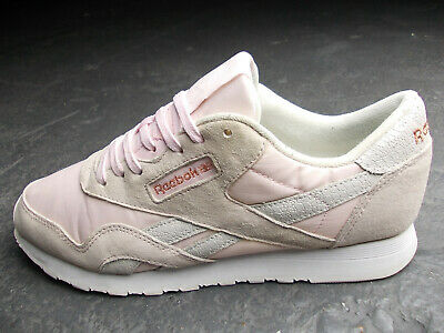 REEBOK CLASSIC LEATHER Club 85 C85 Stockholm X Face 39 Rosa Weiss Super Zustand