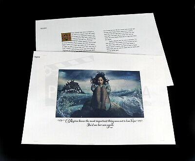ONCE UPON A TIME TV Series Regina Storybrook Pages Prop (OUAT1374)