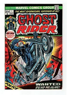Ghost Rider (Superhero) #1, VF+,8.5, Fearsome first issue, great cover